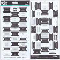 Illustrated Faith - Books of the Bible Tabs, Black & White, Tarrasetti