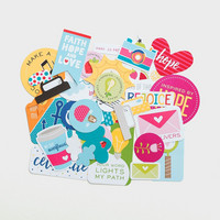 Illustrated Faith - Encouragement Die-Cuts, 35 osaa