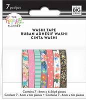 MAMBI - Happy Planner Washi, Floral, Teippisetti