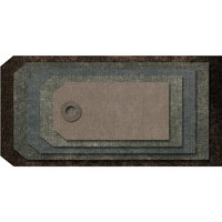 Sizzix - Thinlits Dies By Tim Holtz, Stanssisetti, Stacked Tags