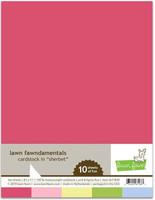 Lawn Fawn - Sherbet Pack Cardstock, Paperikko, 8,5
