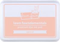 Lawn Fawn - Apricot, Leimamustetyyny