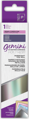 Gemini - Foil Press Papercraft Foil, Aurora (H)