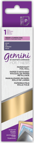 Gemini - Foil Press Papercraft Foil, Gold (H)