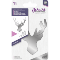 Gemini - Foil Stamp Die Elements, Stag Head