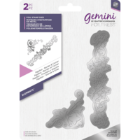 Gemini - Foil Stamp Die Elements, Papillon  Border & Corner