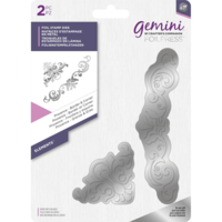 Gemini - Foil Stamp Die Elements, Provence  Border & Corner