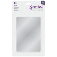 Gemini - Foilpress Metal Shim, Metallilevy