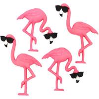 Dress It Up - Think Pink Flamingos, Koristenappisetti