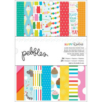American Crafts - Pebbles Happy Hooray, Paperikko 6