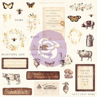 Prima Marketing - Spring Farmhouse Ephemera Cardstock Die-Cuts, 33 osaa