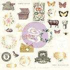 Prima Marketing - Spring Farmhouse Ephemera Cardstock Die-Cuts II, 29 osaa