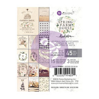 Prima Marketing - Spring Farmhouse Journaling Notecards, 3