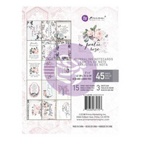 Prima Marketing - Poetic Rose Journaling Notecards, 3