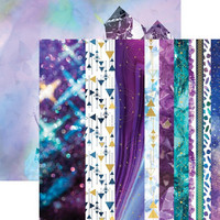 Paper House - Stargazer Ultra Violet, Double-Sided Cardstock 12