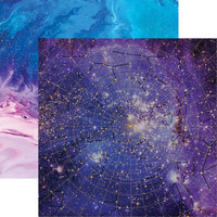 Paper House - Stargazer Star Chart, Double-Sided Cardstock 12