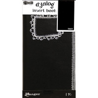 Dylusions - Dyalog Insert Book, Black #2, 24 sivua