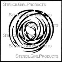 StencilGirl - Swirl, Sapluuna, 4