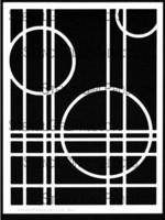 StencilGirl - Intersections Stencil, Sapluuna, 9