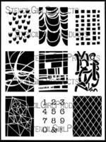 StencilGirl - ATC Mixup 1, Sapluuna, 9