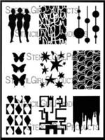 StencilGirl - ATC Mixup Dube, Sapluuna, 9