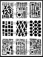 StencilGirl - ATC Mixup - Seth Apter, Sapluuna, 9