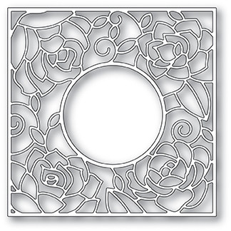Poppy Stamps - Rose Frame, Stanssi