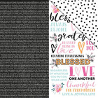 Kaisercraft - Blessed Double-Sided Cardstock 12