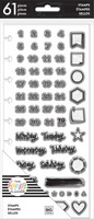 MAMBI - Happy Planner Clear Stamps, Days & Numbers, Leimasetti
