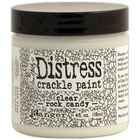 Tim Holtz - Distress Crackle Paint, Clear Rock Candy, 118ml