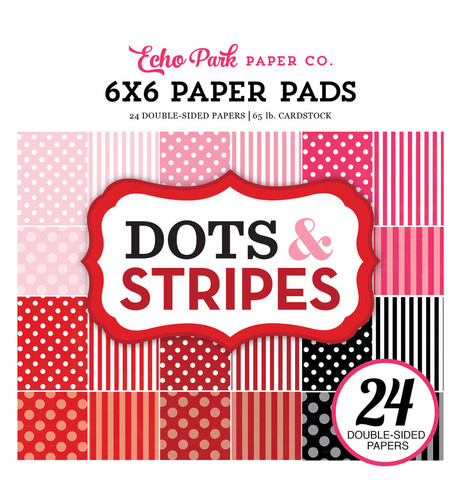Echo Park - Dots & Stripes Double-Sided Paper Pad 6