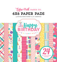 Echo Park - Happy Birthday Girl Double-Sided Paper Pad 6