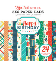 Echo Park - Happy Birthday Boy Double-Sided Paper Pad 6