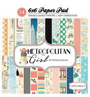Carta Bella - Metropolitan Girl Double-Sided Paper Pad 6