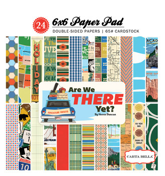Carta Bella - Are We There Yet? Double-Sided Paper Pad 6