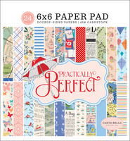 Carta Bella - Practically Perfect Double-Sided Paper Pad 6