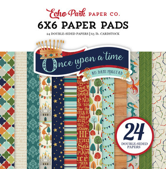 Echo Park - Once Upon a Time Double-Sided Paper Pad 6