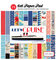 Carta Bella - Let's Cruise Double-Sided Paper Pad 6