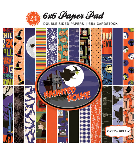 Carta Bella - Haunted House Double-Sided Paper Pad 6