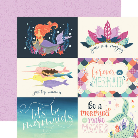 Echo Park - Mermaid Dreams Double-Sided Cardstock 12