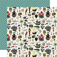 Echo Park - Pirate Tales Double-Sided Cardstock 12