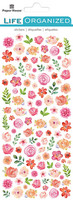 Paper House - Flowers Micro Sticker, Tarra-arkki