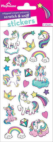 Paper House - Unicorn Scratch and Sniff Stickers, Tarra-arkki