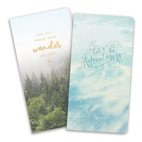 Paper House - Travel, Journey Book Insert Set, Vihkosetti