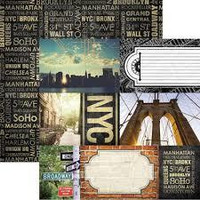 Paper House - New York City, Double-Sided Cardstock 12