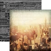 Paper House - City Skyline, Double-Sided Cardstock 12