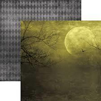 Paper House - All Hallows Moon, Double-Sided Cardstock 12
