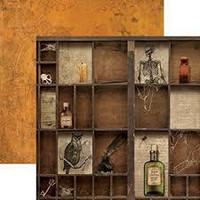 Paper House - Apothecary, Double-Sided Cardstock 12