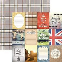 Paper House - London Tags, Double-Sided Cardstock 12