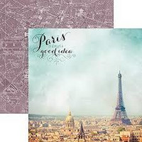 Paper House - Paris Is Always A Good Idea, Double-Sided Cardstock 12
